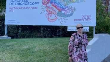 dr n. med. Olga Warszawik- Hendzel na II Światowym Kongresie Trychoskopii we Włoszech
